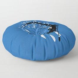 Dream Catcher feathers indian Floor Pillow