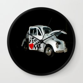 Jesus Car Wall Clock