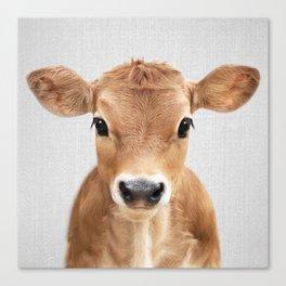 Calf - Colorful Canvas Print