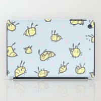 bees iPad Cases featuring BEES!!  by SOMNIVAGRIOUS