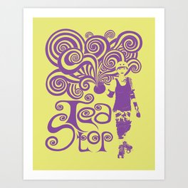 Tea Stop Art Print
