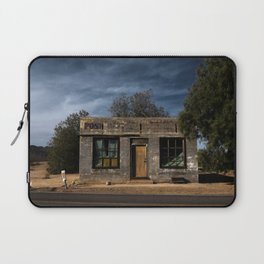 Abandoned Post Office in Kelso California Laptop Sleeve