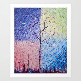 Seasonal Changes - by MylesKatherine Art Print
