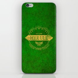 Kingdom of Hyrule iPhone Skin