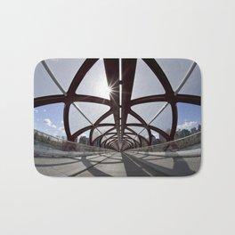 Calgary Peace Bridge; great Architecture Bath Mat
