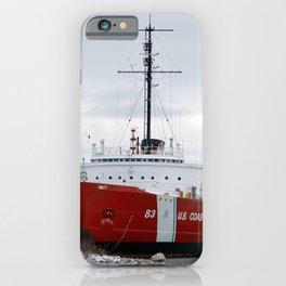 USCG Cutter Mackinaw 83 iPhone Case