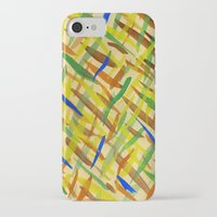 the strokes iPhone & iPod Cases featuring brush strokes by littlesilversparks