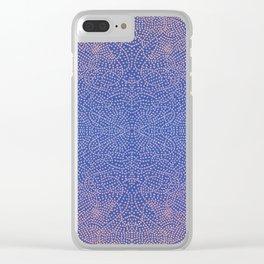 Square craziness Clear iPhone Case