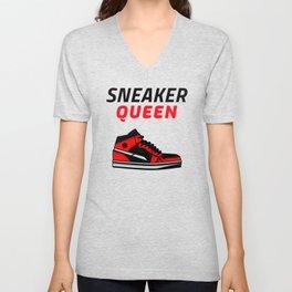 Sneaker Queen Unisex V-Neck