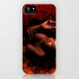 LURES OF THE BLACK HOLE iPhone Case