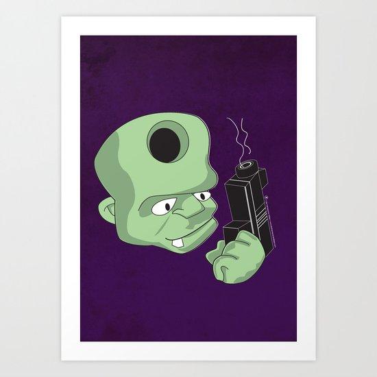 Bullet in the Head Art Print