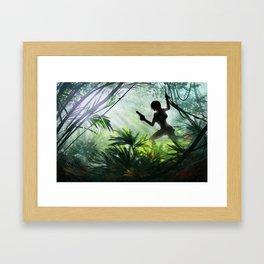 Tomb Raider Jungle Framed Art Print