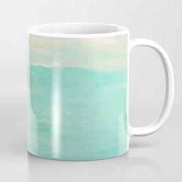 beach ocean wave. Surge. Hermosa Beach photograph Coffee Mug