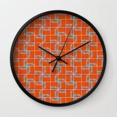 Wall Pattern Wall Clock