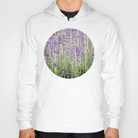 lavender Hoodies featuring Lavender by A Wandering Soul