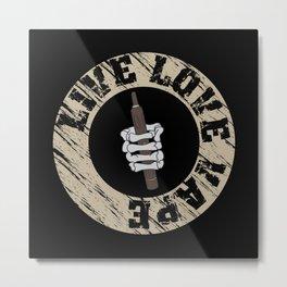 Vape Design For E Cig Lovers Metal Print