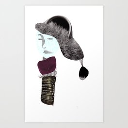 The Madam Art Print