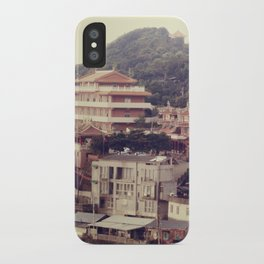 Mountain Town iPhone Case