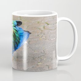 Nicobar Pigeon Strut Coffee Mug