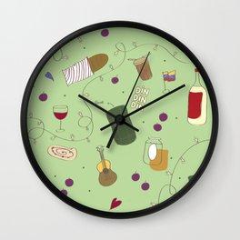 Huele a Navidad Wall Clock