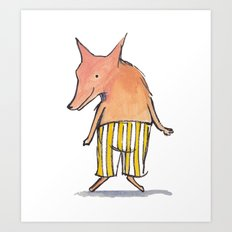 Phillip the Fox Art Print
