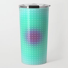 Ripple III Pixelated Travel Mug