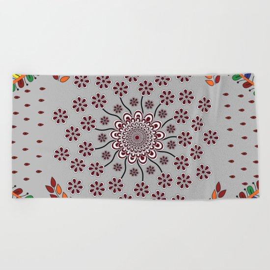 Pattern Z Beach Towel