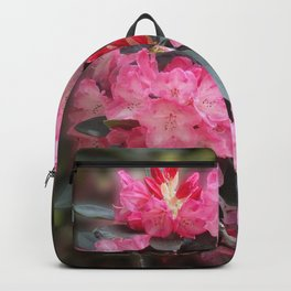 Dreamy Pink Rhododendrons Backpack