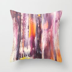 Color Texture History 3 Throw Pillow