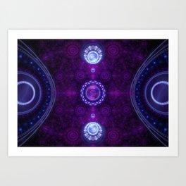 Reign - Grand Julian Fractal Art Print