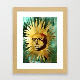 Ugly Suns Framed Art Print