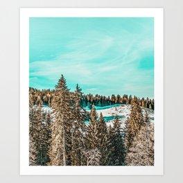 Winter Morning #photography #nature Art Print