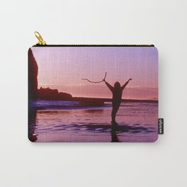 Pacific Epic Sunset: Happy, Joyful & Free! Carry-All Pouch