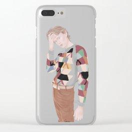 Henrik Holm | skam cast Clear iPhone Case