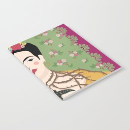 Frida Viva Cushion Notebook