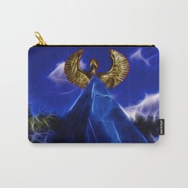 Blue Pyramid Power Carry-All Pouch