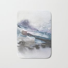 the beauty of impermanence II Bath Mat