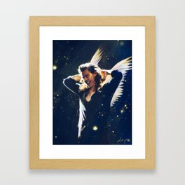 Hey Angel Framed Art Print