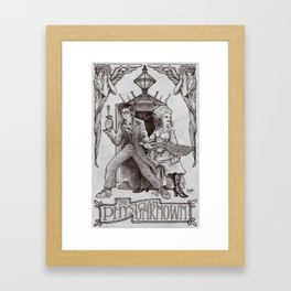 The Physician Unknown Framed Art Print
