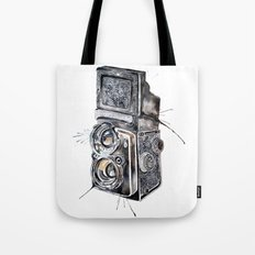 Camera Happy  Tote Bag