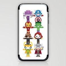 THE AVENGER'S 'ASSEMBLE' ROBOTICS iPhone & iPod Skin