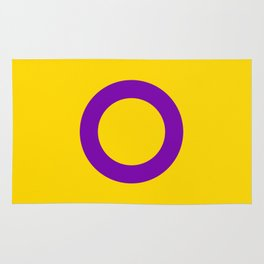Intersex Flag v2 Rug