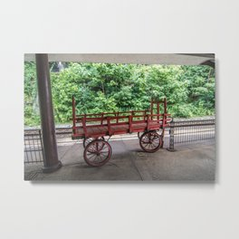 The Staunton Wagon Metal Print