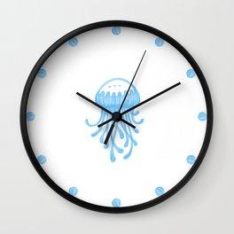 Dreaming of Jellyfish Wall Clock