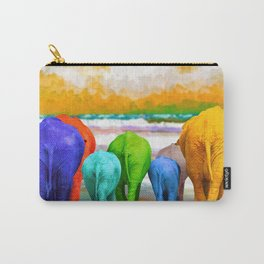 Family Walk Carry-All Pouch