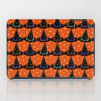 hats iPad Cases featuring Hats & Stars by Art Tree Designs