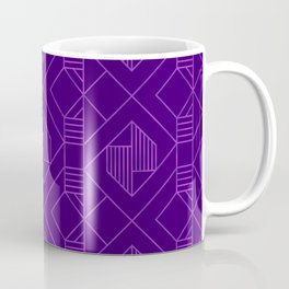 Metallic Foil in Purple Coffee Mug