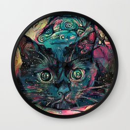 Vincent's Cat Wall Clock
