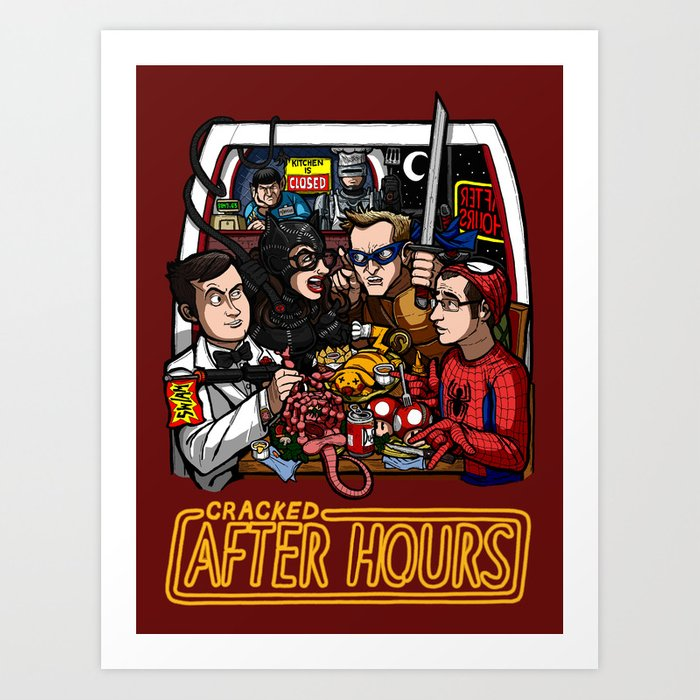 After Hours: The Shirt Art Print