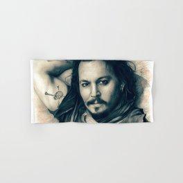 Johnny Depp II. Hand & Bath Towel